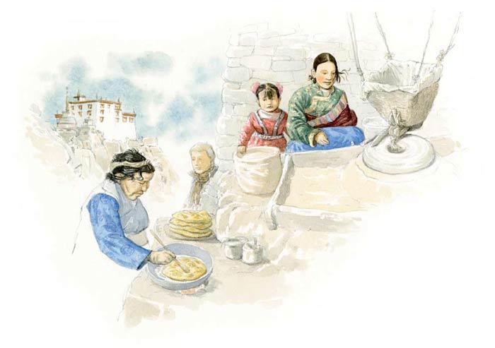 Le tour du monde en 80 pains | Tibet