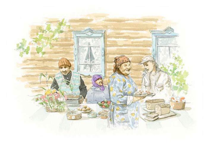 Le tour du monde en 80 pains | Russie