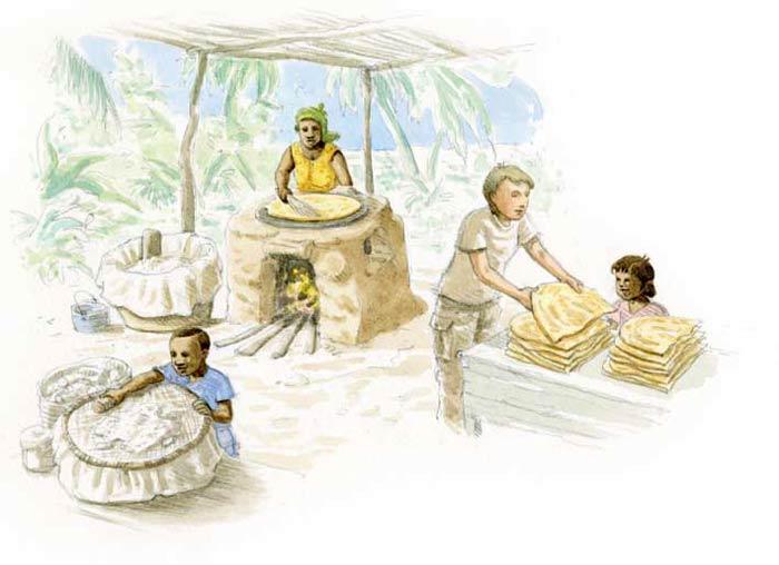 Le tour du monde en 80 pains | Amazonie et Caraïbes