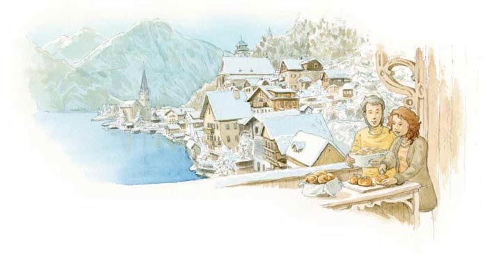 Le tour du monde en 80 pains | Autriche