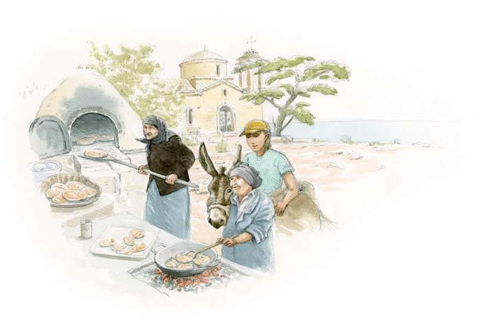 Le tour du monde en 80 pains | Chypre