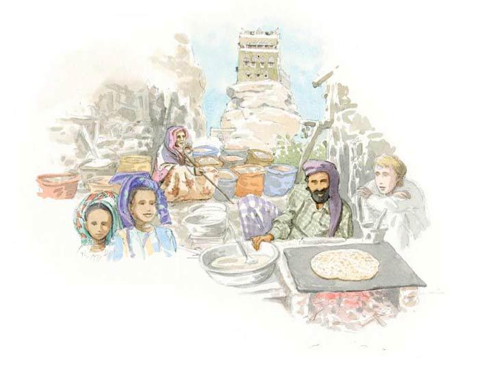 Le tour du monde en 80 pains | Yémen