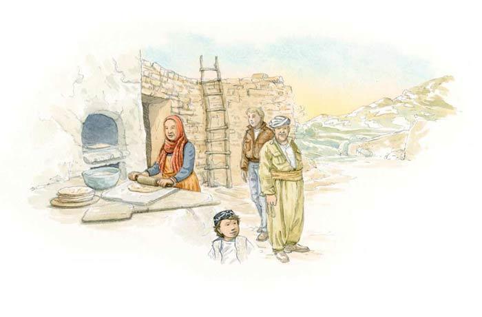 Le tour du monde en 80 pains | Kurdistan