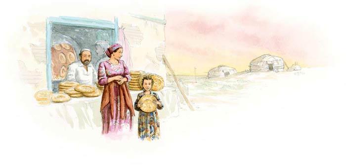 Le tour du monde en 80 pains | Ouzbékistan