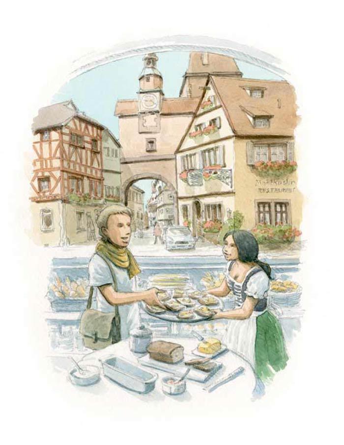 Le tour du monde en 80 pains | Allemagne