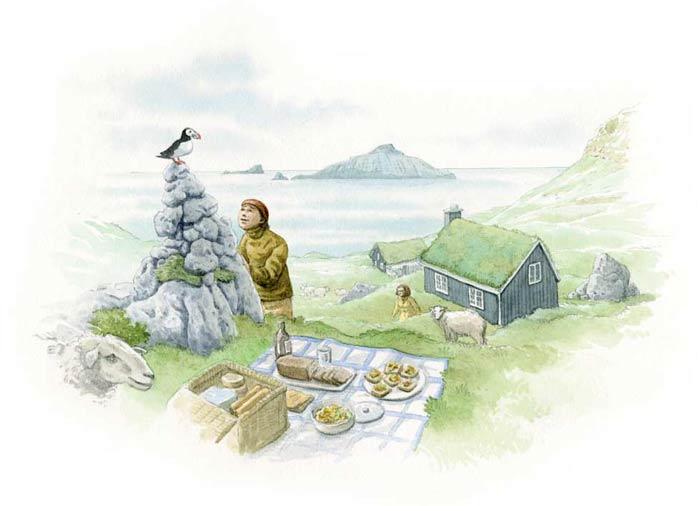 Le tour du monde en 80 pains | Danemark