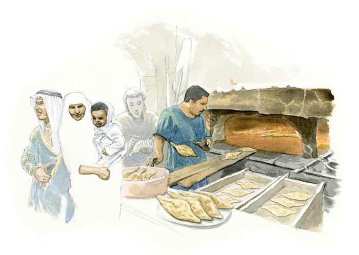 Le tour du monde en 80 pains | Irak