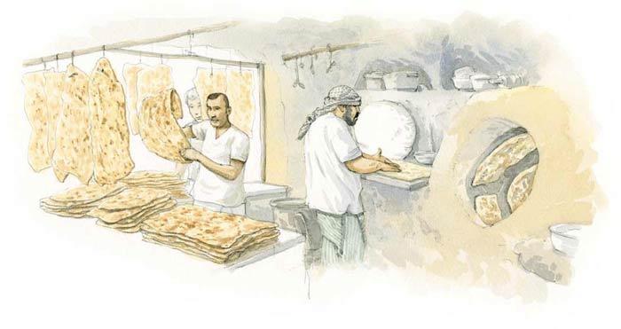 Le tour du monde en 80 pains | Iran