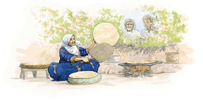 Le tour du monde en 80 pains | Palestine