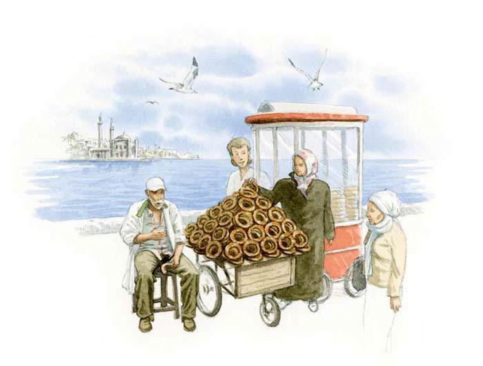 Le tour du monde en 80 pains | Turquie