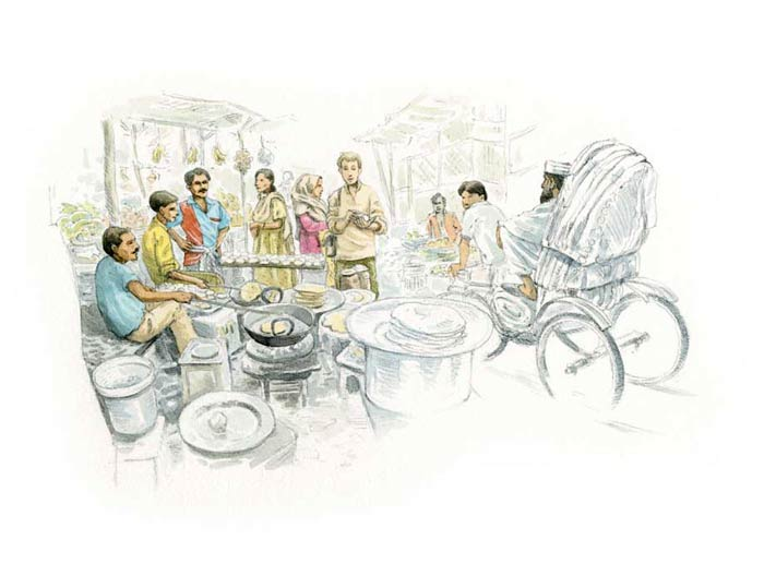 Le tour du monde en 80 pains | Bangladesh